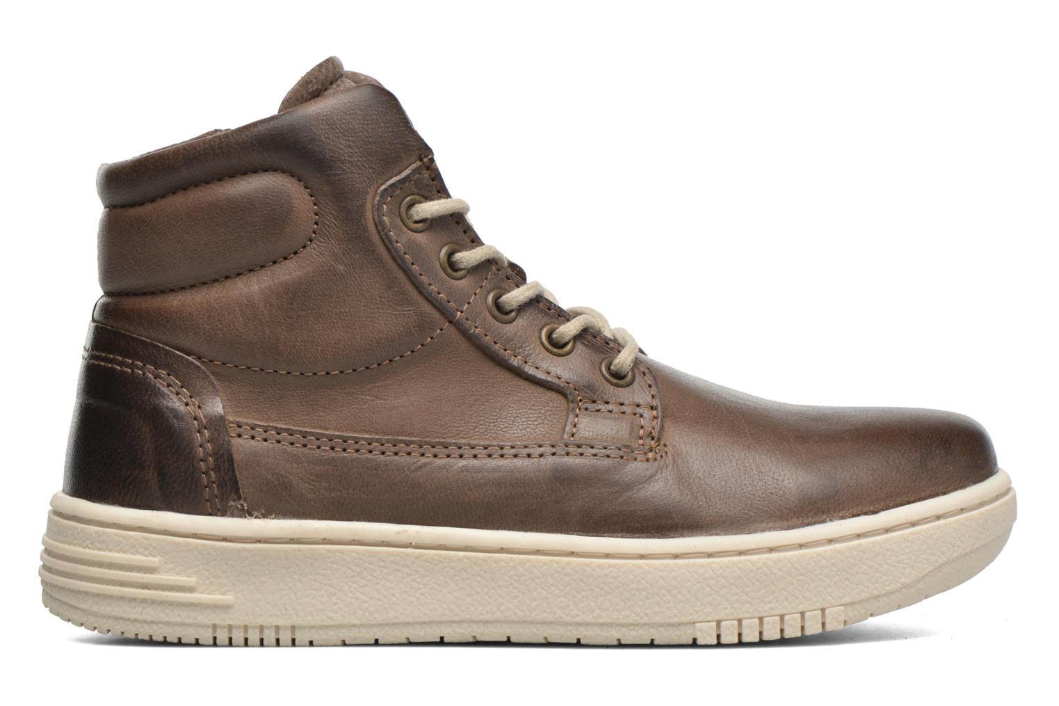 Sneakers P-L-D-M By Palladium Galax Bruin achterkant