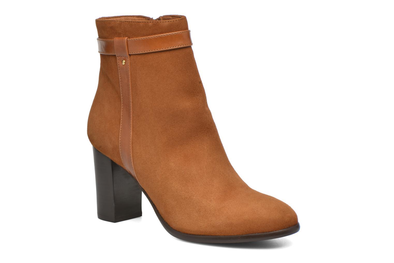 Boots en enkellaarsjes Georgia Rose Tarik Bruin detail