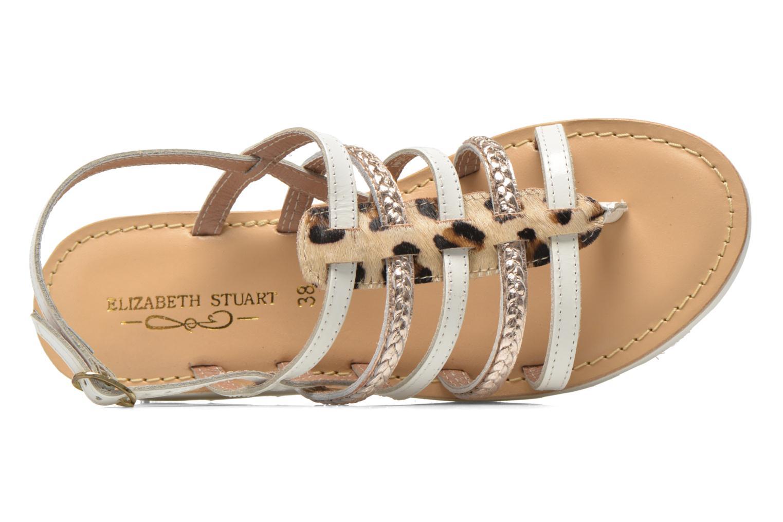 Sandales et nu-pieds Elizabeth Stuart Hicar 885 Blanc vue gauche
