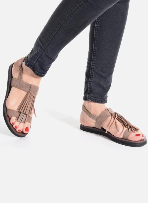 Sandales et nu-pieds Elizabeth Stuart Perrys 606 Noir vue bas / vue portée sac