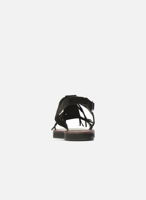 Sandales et nu-pieds Elizabeth Stuart Perrys 606 Noir vue droite