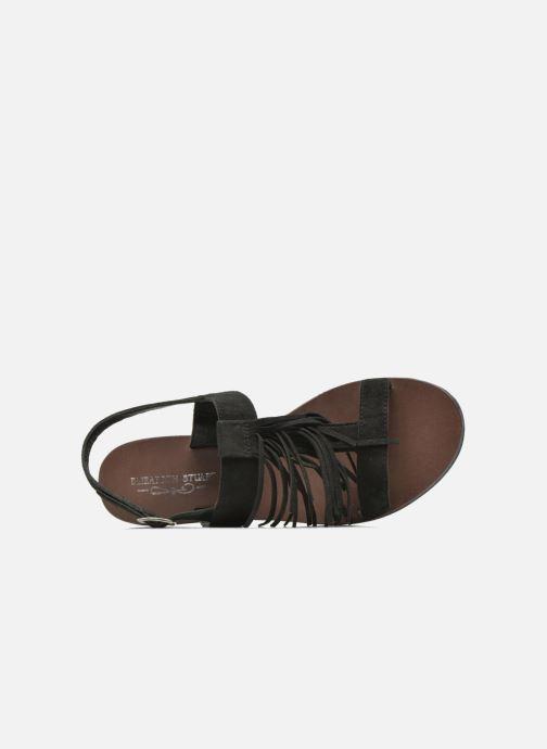 Sandales et nu-pieds Elizabeth Stuart Perrys 606 Noir vue gauche