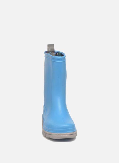 Stivali SARENZA POP Virain kid Azzurro modello indossato