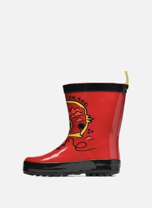 Bottes Be Only Aventure Rouge vue face
