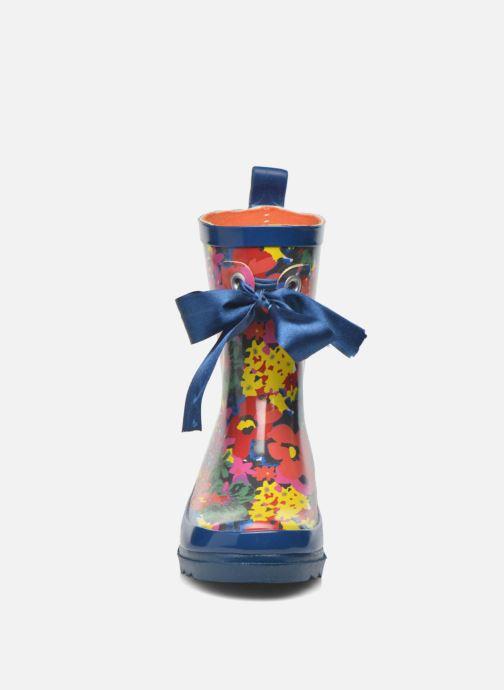 Bottes Be Only Flower Bleu vue portées chaussures
