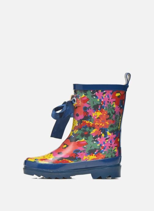 Boots & wellies Be Only Flower Blue front view