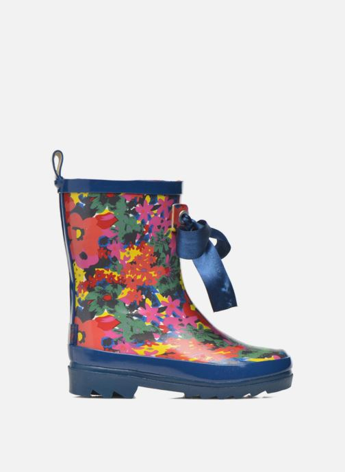 Boots & wellies Be Only Flower Blue back view