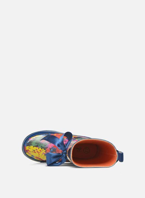 Laarzen Be Only Flower Blauw links