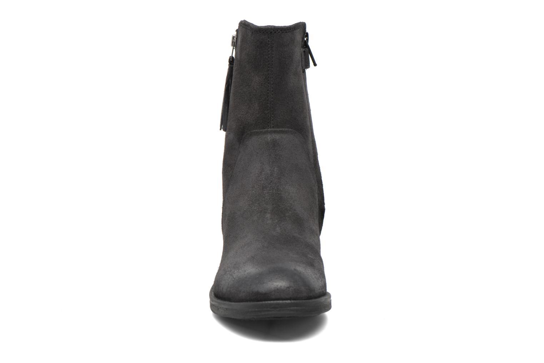 Bottines et boots Geox JR Agata J5449G Noir vue portées chaussures