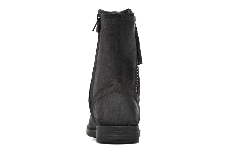 Bottines et boots Geox JR Agata J5449G Noir vue droite