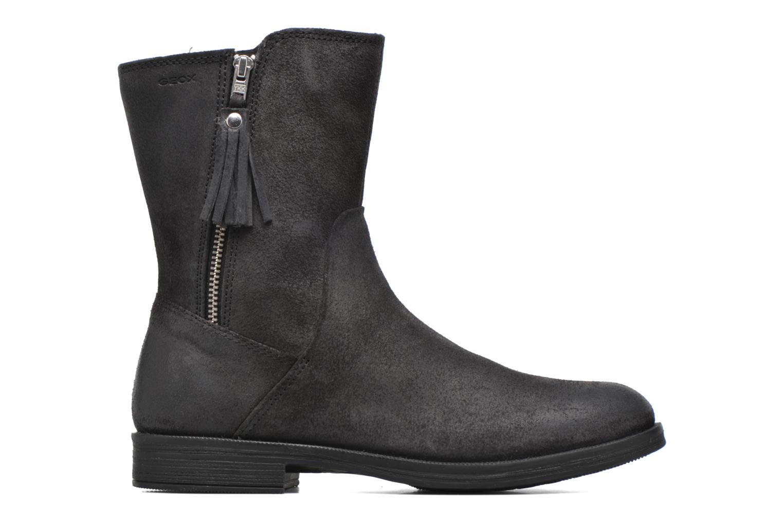 Bottines et boots Geox JR Agata J5449G Noir vue derrière