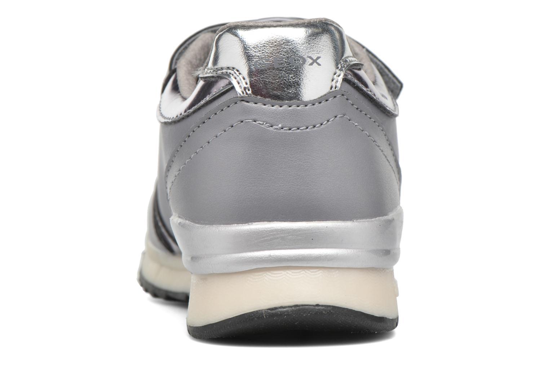 Sneakers Geox J Maisie Girl J5403C Grigio immagine destra
