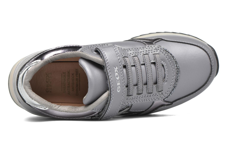 Sneakers Geox J Maisie Girl J5403C Grigio immagine sinistra