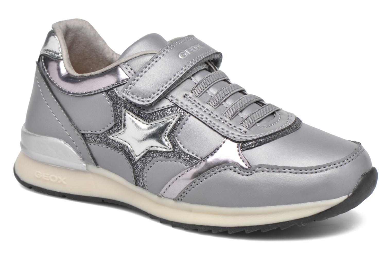 Sneakers Geox J Maisie Girl J5403C Grigio vedi dettaglio/paio
