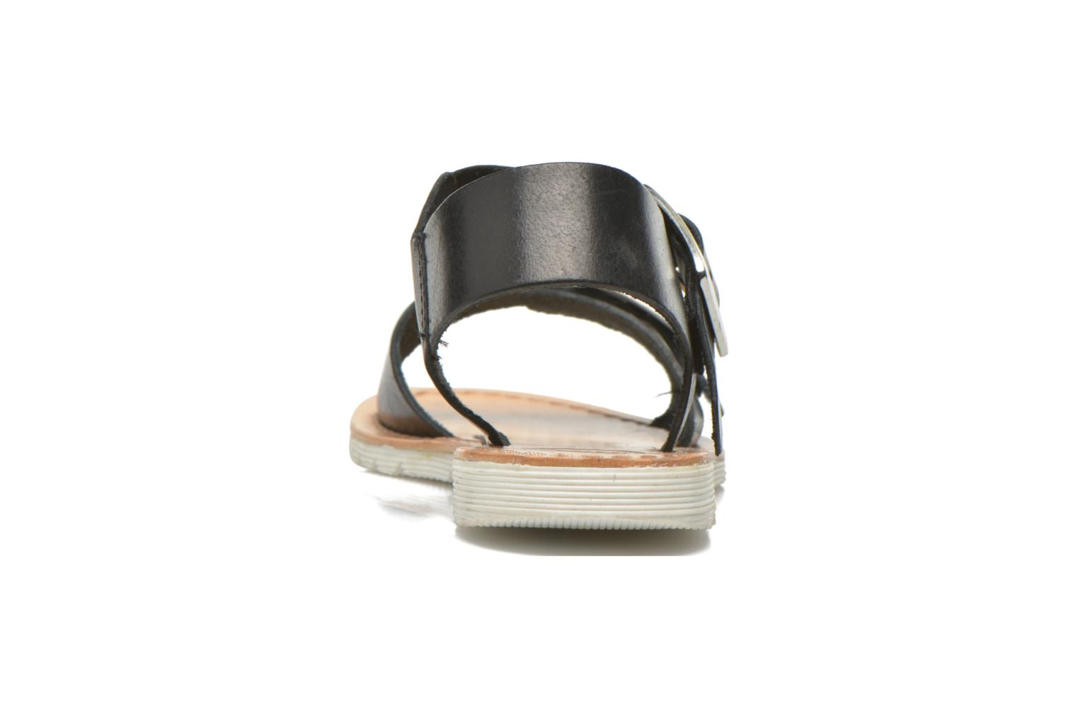 Sandals Gioseppo Karina Black view from the right