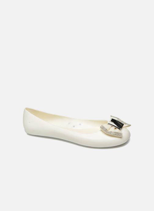 Ballet pumps Gioseppo Regato White detailed view/ Pair view
