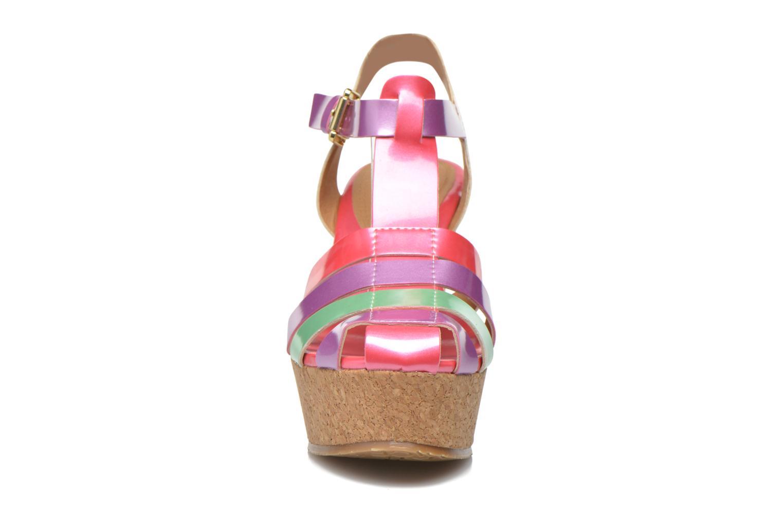 Sandales et nu-pieds Gioseppo Syrup Multicolore vue portées chaussures
