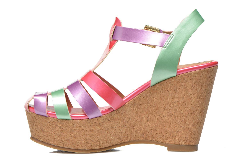 Sandales et nu-pieds Gioseppo Syrup Multicolore vue face