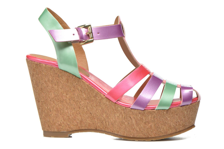 Sandales et nu-pieds Gioseppo Syrup Multicolore vue derrière