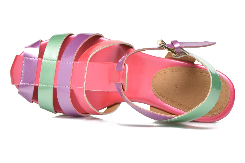 Sandales et nu-pieds Gioseppo Syrup Multicolore vue gauche