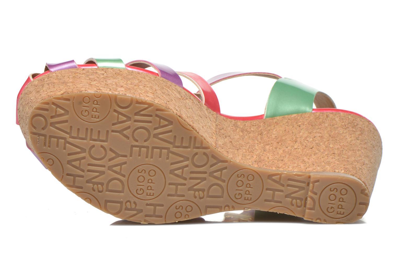 Sandales et nu-pieds Gioseppo Syrup Multicolore vue haut