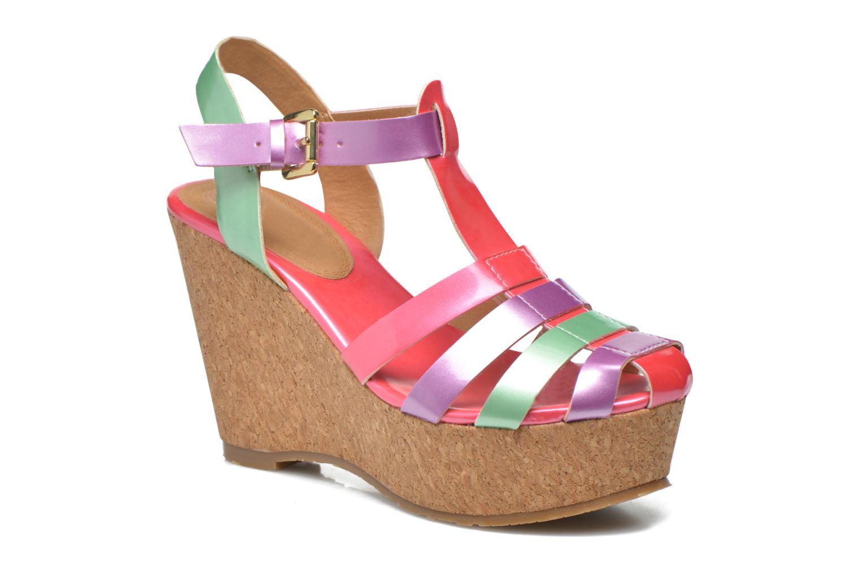 Sandales et nu-pieds Gioseppo Syrup Multicolore vue détail/paire
