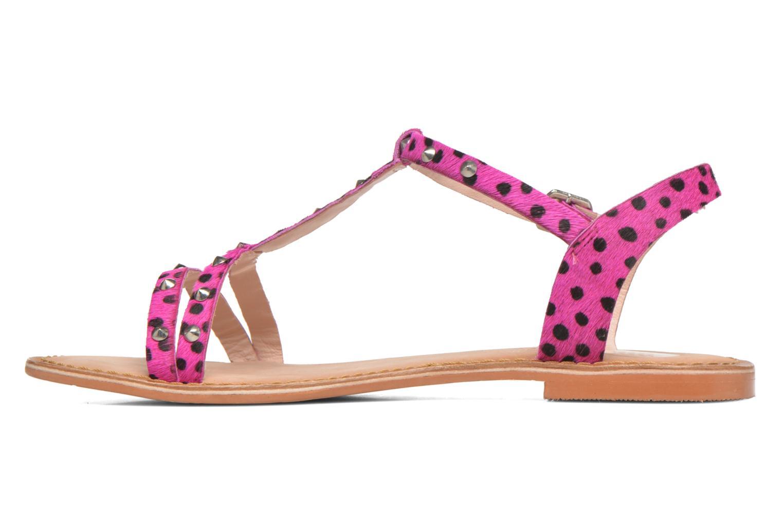 Sandalen Gioseppo Drupa rosa ansicht von vorne