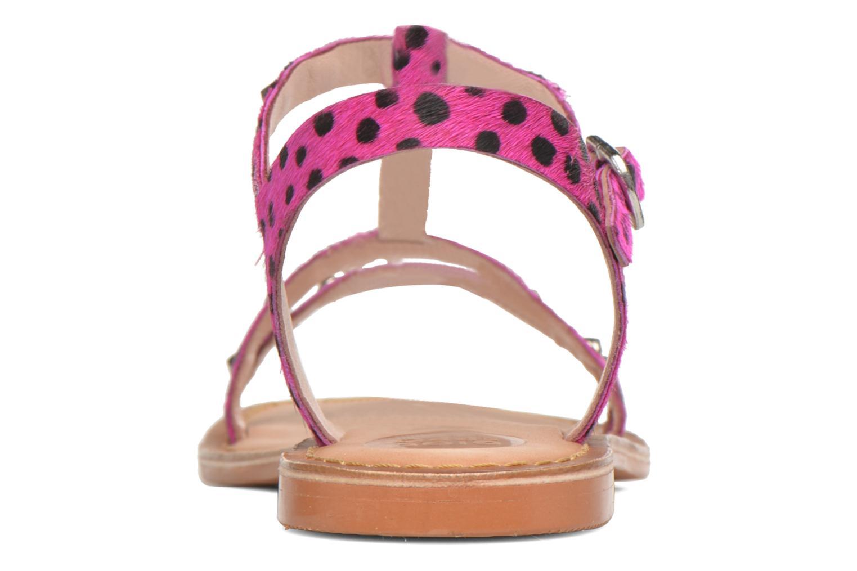 Sandalen Gioseppo Drupa rosa ansicht von rechts