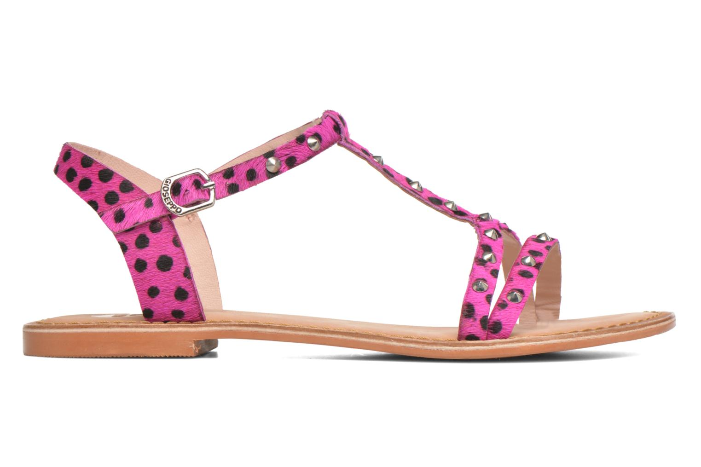 Sandalen Gioseppo Drupa rosa ansicht von hinten