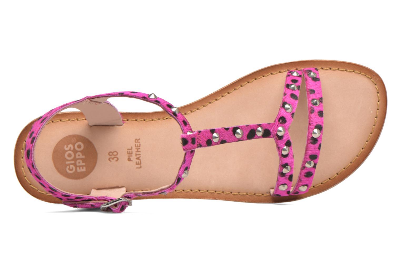 Sandalen Gioseppo Drupa rosa ansicht von links