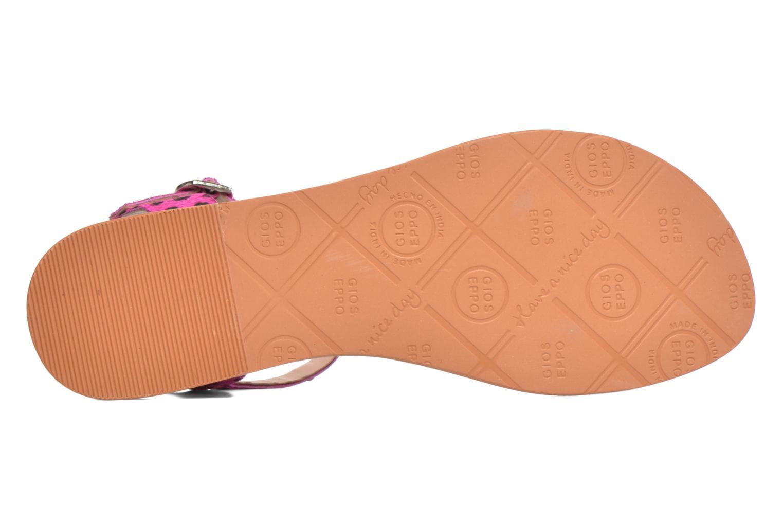 Sandalen Gioseppo Drupa rosa ansicht von oben