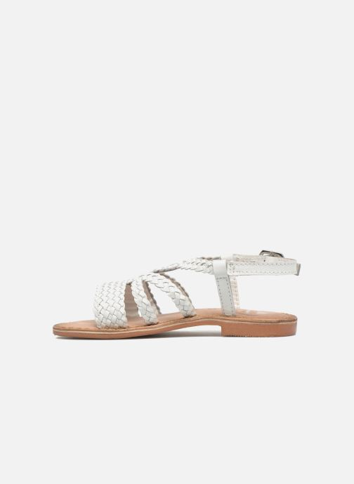 Sandals Gioseppo Jacinthe White front view