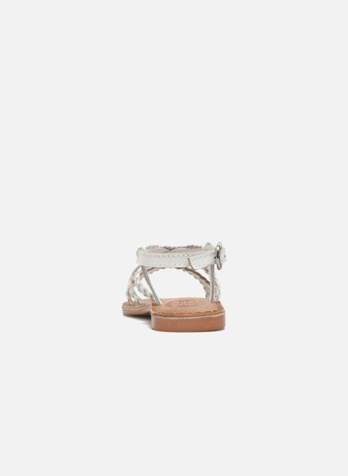 Sandales et nu-pieds Gioseppo Jacinthe Blanc vue droite