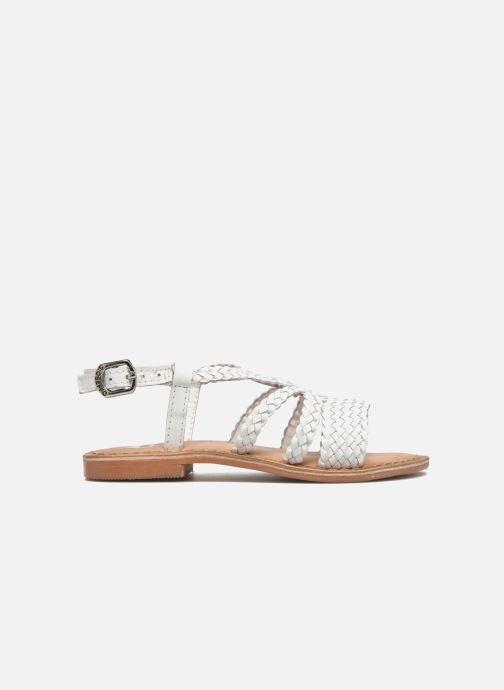 Sandales et nu-pieds Gioseppo Jacinthe Blanc vue derrière