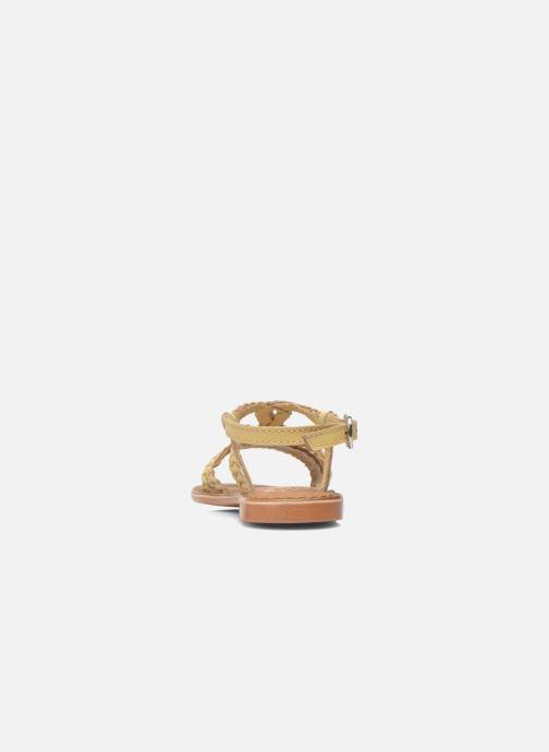 Sandales et nu-pieds Gioseppo Jacinthe Beige vue droite