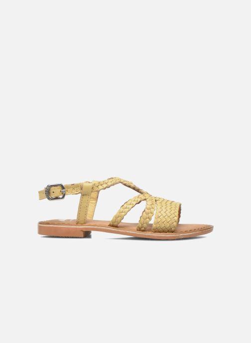 Sandales et nu-pieds Gioseppo Jacinthe Beige vue derrière