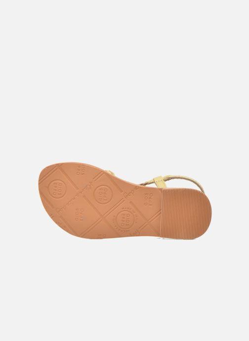 Sandali e scarpe aperte Gioseppo Jacinthe Beige immagine dall'alto