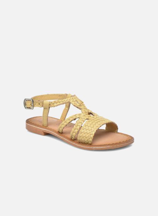 Sandales et nu-pieds Gioseppo Jacinthe Beige vue détail/paire