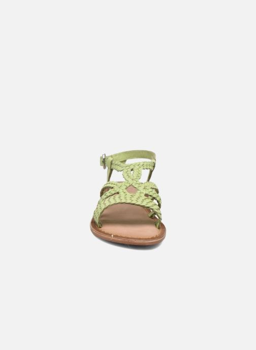Sandalen Gioseppo Jacinthe grün schuhe getragen