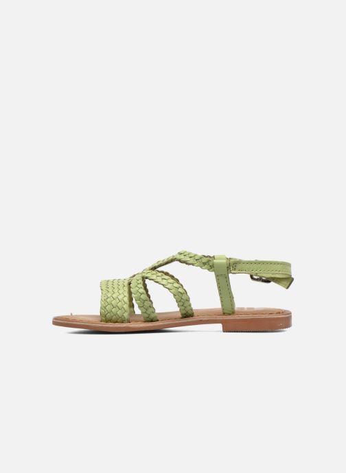 Sandalen Gioseppo Jacinthe grün ansicht von vorne