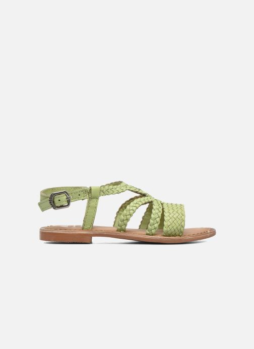 Sandalen Gioseppo Jacinthe grün ansicht von hinten
