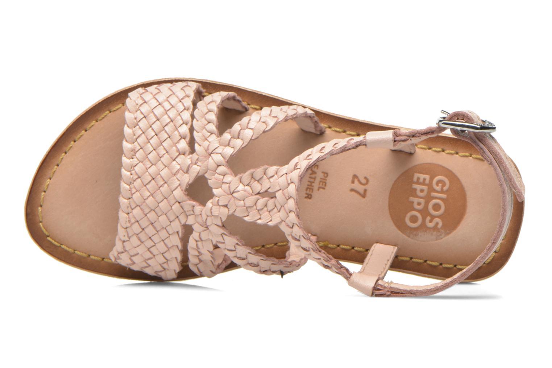 Sandales et nu-pieds Gioseppo Jacinthe Rose vue gauche