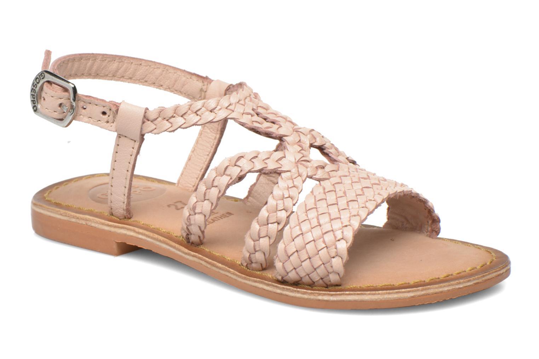 Sandales et nu-pieds Gioseppo Jacinthe Rose vue détail/paire