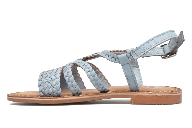 Sandalen Gioseppo Jacinthe blau ansicht von vorne