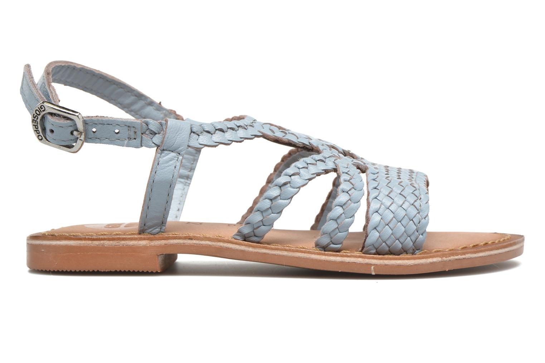 Sandaler Gioseppo Jacinthe Blå bild från baksidan