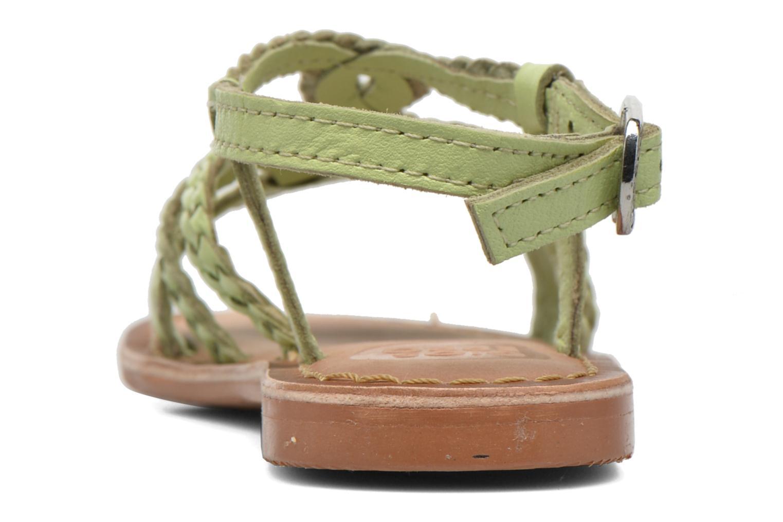 Sandales et nu-pieds Gioseppo Jacinthe Vert vue droite