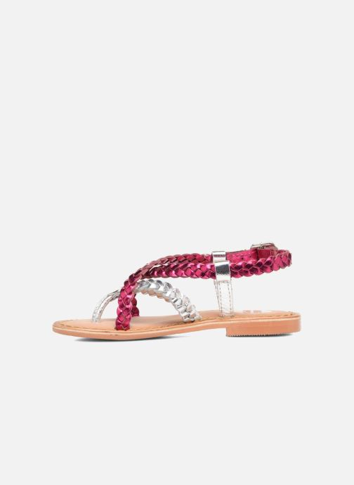 Sandales et nu-pieds Gioseppo Orchidee Rose vue face