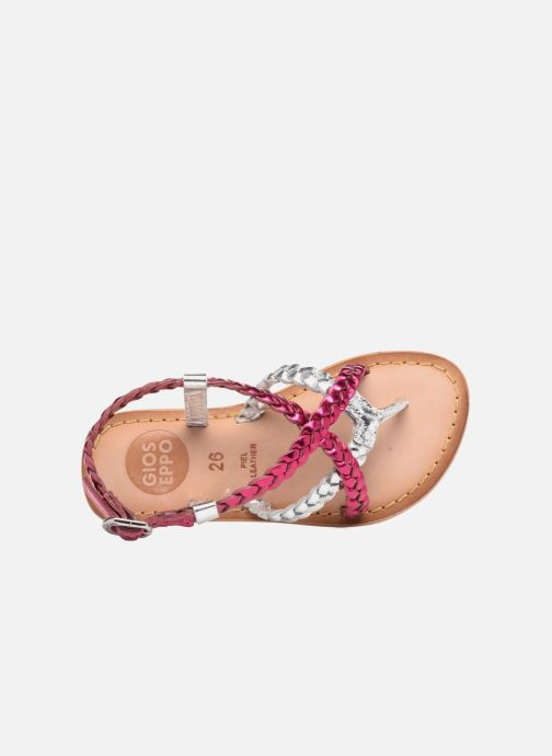Sandales et nu-pieds Gioseppo Orchidee Rose vue gauche