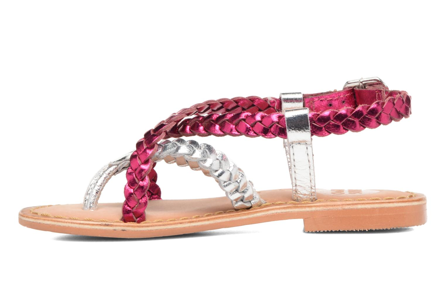 Sandals Gioseppo Orchidee Pink front view