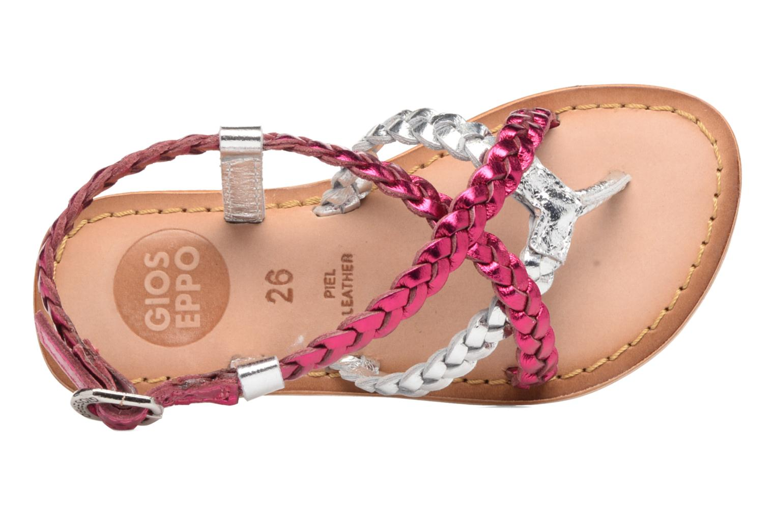 Sandals Gioseppo Orchidee Pink view from the left